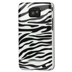 Samsung Galaxy S2 Snap-on Suojakotelo - Zebra - Musta / Valkoinen. 7,90 €. (Vain yhdet suojakuoret mun puhelimeen.)