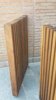 Giardino privato, Modena, 2016 - Francesca Novi Front Yard Fence, Front Gates, Modern Fence Design, Privacy Fence Designs, Timber Cladding, Fence Landscaping, House Siding, Gate Design, Garden Gates