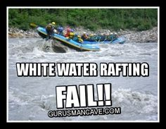 Probably my raft. After the other incident Adults Only Humor, Anaheim California, Whitewater Rafting, Funny Images, I Laughed, Fails, Boat, Profile, Memes