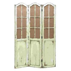 """Woodland Imports�3-Panel Folding Indoor Privacy Screen 71""""H/ $262"""