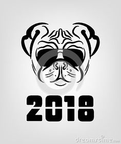 71 Best 2018 year of the dog images | Dog years, 2018 year