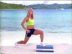 ▶ Daily Workout 7: Step Aerobics, Hips & Thighs - YouTube