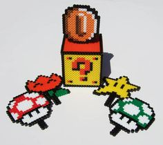 Nintendo Mario Question Mark Keepsake Box with Interchangeable Powerups! - HOME SWEET HOME