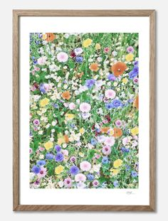 Hampstead Heath/Sunday in July - Viola Brun Hampstead Heath, Floral Tie, Room Inspiration, Sunday, Art Prints, Wallpaper, Frame, Handmade, Interior