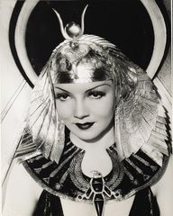 Claudette Colbert as Cleopatra (1934)