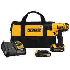 Model MAX Cordless Lithium-Ion in. Compact Drill Driver - Dewalt MAX Lithium-Ion Compact in. Cordless Drill Driver Kit Ah). Compact, lightweight design fits into tight areas. Cordless Drill Reviews, Cordless Hammer Drill, Cordless Tools, Driver Tool, Drill Driver, Home Depot, Compact, Dewalt Drill, Dewalt Tools