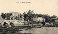 Por Real Orde de 6 de xuño de 1838 autorízase á Xunta de Sanidade e Comercio de Vigo a construción dun lazareto na illa de San Simón na ría. No 1842 comeza a prestar servizo para acoller en corentena a todos os barcos procedentes de América que tiveran como destino calquera porto do noroeste peninsular Cesa a súa actividade en 1923.