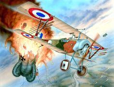 Pinturas aviación Gran Guerra 1914-1918 : Photo