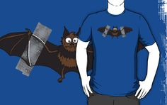 Tape + Bat = Instant Batman Logo [T-Shirt]