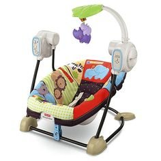 My twins loved this swing.  They would take really long naps in it!  I would put them to sleep in the fastest speed and once asleep I would turn it to the lowest one. Definitely a must!