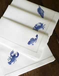 Nautical Napkins.