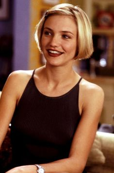 Cameron Diaz in There's Something About Mary, 1998.