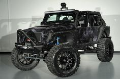 2014 Starwood Custom Kevlar Jeep Wrangler Unlimited Nightstalker www.americanmilitiamen.com
