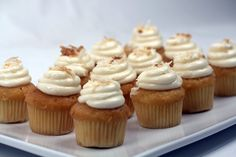 Coconut - #cupcakes #eddascakes - http://eddascakes.com