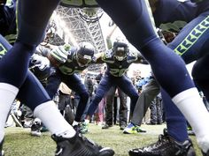 Nov 9, 2014; Seattle, WA, USA; Seattle Seahawks defensive
