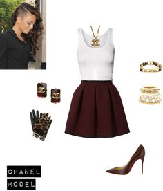 """Chanel Model"" by ndewalt on Polyvore"