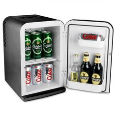 Thermoelectric Mini Fridge Cooler and Warmer Black £64.99