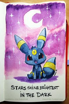 160415 Inspirational Umbreon by fablefire on DeviantArt