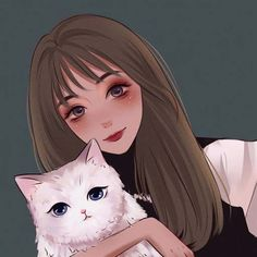 turn photo into cartoon portrait Cartoon Girl Drawing, Girl Cartoon, Cartoon Icons, Cartoon Art, Aesthetic Art, Aesthetic Anime, Illustrations, Illustration Art, Manga Watercolor