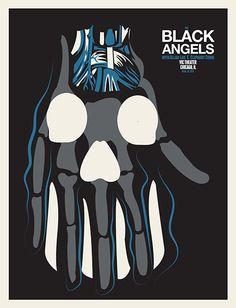 GigPosters.com - Black Angels, The - Allah Las - Elephant Stone