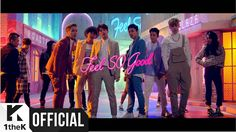 BAP Feel So Good- Very different compared to the rest of their comebacks. They came back with this happy summer song. And it is kind of awkward in their stage performances but i love this song:)
