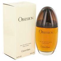 OBSESSION by Calvin Klein for Women Eau De Parfum Spray 3.4 oz