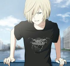 Read Chapter 16 from the story Love on ice yuri plisetsky x reader by Lina_the_nerd (LT) with reads. yurionice, y. Read Chapter 1 from the story Love on ice yuri plisetsky x reader by Lina_the_nerd (LT) with reads. plisetski, y. Anime Boys, Manga Anime, Comic Anime, Anime Art, Noragami Anime, Anime Chibi, Love On Ice, ユーリ!!! On Ice, Yuri On Ice