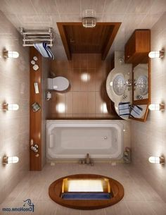Small House Bathroom White And Orange Tiny Bathroom Classic Bathroom Design Classic Small Bathroom Design Small House Bathroom Layout Bathroom Lighting Design, Bathroom Layout, Modern Bathroom Design, Bathroom Interior Design, Bathroom Designs, Modern Design, Interior Paint, Contemporary Design, Tiny Bathrooms