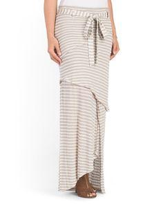 Linen+Matisse+Maxi+Skirt