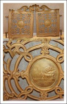 Cancelletti in fusione di bronzo, datati 1782 Antiquariato su Arsantik