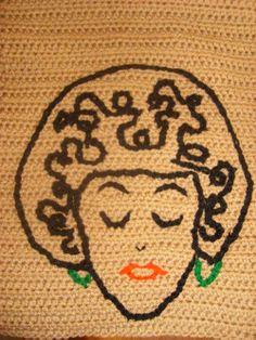 Crochet Embroidery - Leah Eneas