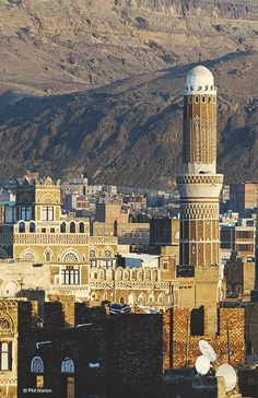sana'a, yemen | cities in the middle east + travel destinations #wanderlust