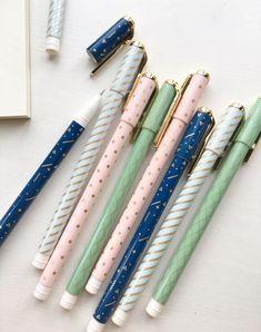 Pack de 4 série pastels Gel dencre stylos 05 mm par PapergeekCo