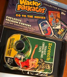 Wacky Packages Go To The Movies Collector's Box!