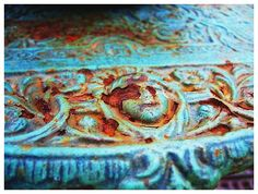 Turquoise with rust - amazing color combination!