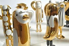 Hope Bird Collection by Jaime Hayon for Design Apart in home furnishings art  Category * Deco Findings * The Inner Interiorista