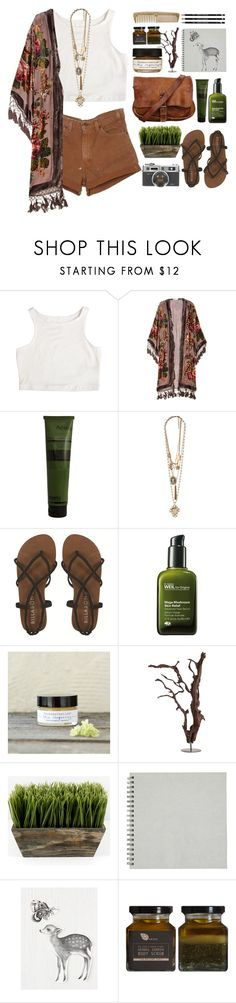 """Annie"" by socialintrovert ❤ liked on Polyvore featuring Kite and Butterfly, Aesop, Forever 21, Billabong, Origins, Farmaesthetics and Free People"