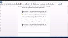 Tutoriel vidéo pour apprendre à créer une lettrine sur Word. Comment créer une lettre plus grosse que le reste du texte Word ? Comment supprimer une lettrine sur Word ? Comment augmenter la taille de la lettrine Word ?  Pour lire ce tutoriel en version texte, rendez-vous sur Votre Assistante : http://www.votreassistante.net/creer-lettrine-word