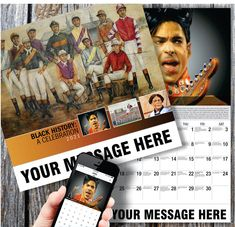 2021 Black History Wall Calendars low as Promote Your Business, Organization or Event. Calendar App, Print Calendar, Promotional Calendars, Date Squares, Us Holidays, Free Advertising, Sports Stars, Upcoming Events, Politicians