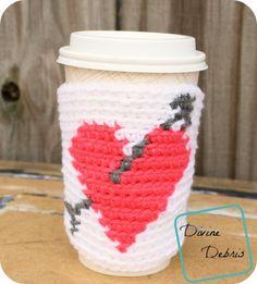 Free Heart Mug Cozy