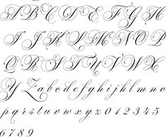 Lettering House Beautiful house of beauty uk Tattoo Lettering Alphabet, Calligraphy Fonts Alphabet, Tattoo Lettering Styles, Chicano Lettering, Graffiti Lettering Fonts, Cursive Alphabet, Copperplate Calligraphy, Script Lettering, Tattoo Script
