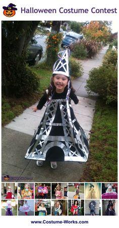 Eiffel Tower - DIY costume ideas