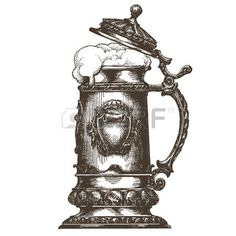 37460491-sketch-mug-of-beer-on-a-white-background-vector-illustration.jpg (450×450)