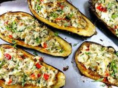 Image result for stuffed eggplant and zucchini