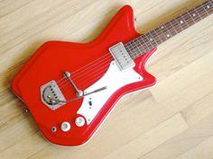 "1966 Supro ""JB Hutto"" Resoglass electric guitar"