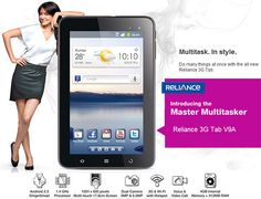 """Reliance Communications has declared the appearance of their latest Android tab """"Reliance 3G Tab V9A'. Bit surprisingly they have opted for bit outdated Android 2.3 Gingerbread in spite of Android 4.1 Jelly Bean or at least Android 4.0 ICS. The latest tab costs around Rs. 14,499. So the amazing thing of this tab is it's on board 3G support. ...."""