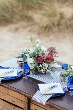 Photography: Sarah Falugo - www.sarahfalugo.com  Read More: http://www.stylemepretty.com/destination-weddings/2014/03/13/coastal-england-wedding-inspiration/