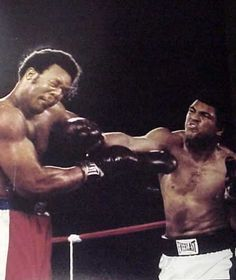 """It was October 30, 1974, and the event was billed as """"The Rumble in the Jungle."""" Heavyweight boxing champion George Foreman defended his crown in Zaire (now the Democratic Republic of the Congo) against challenger Muhammad Ali."""