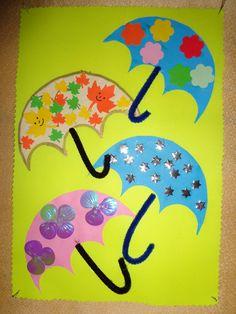 DEŠTNÍKY Weather, Seasons, Home Decor, Winter Time, Children, Classroom Supplies, Crafting, Decoration Home, Room Decor
