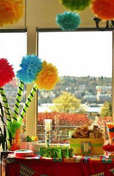 dr. seuss birthday party ideas - Google Search